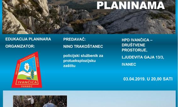 Opasnost od mina u hrvatskim planinama