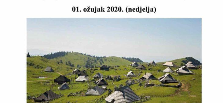IZLET; VELIKA PLANINA, 01.03.2020., NEDJELJA